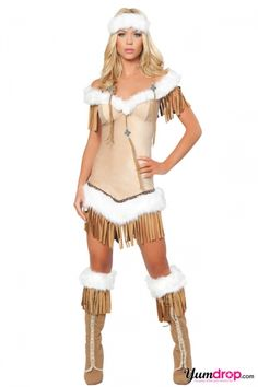 Deluxe Native Princess Costume