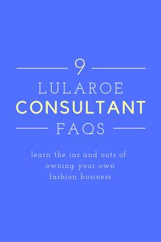 Read up on the most common questions potential LuLaRoe Consultants ask me.  Learn how you can make awesome money selling LuLaRoe clothes while taking care of your children and/or while working another job.  Yes it's possible to achieve your dreams!!  Mary is now accepting new team members!