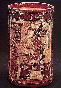 Mayan vase
