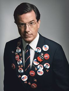 Stephen Colbert, He is leaving the Colbert Report I will miss he's character of an extreme right wing member of the one percent club. your the best Stephen cheers from Paul Ianni Stephen Colbert, Colbert Report, Jon Stewart, The Daily Show, Funny People, Funny Guys, Hey Girl, Man Humor, Famous Faces