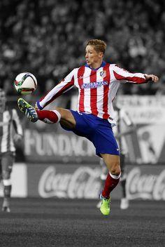 Fernando Torres of Atletico Madrid