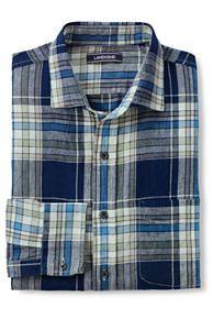 c164b808d Men s Long Sleeve Pattern Linen Shirt Sleeve Pattern