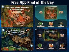 Two fabulous FREE kids book apps to help with sleep!