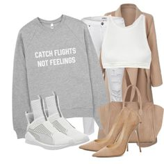 A fashion look from March 2016 by xirix featuring True Religion, T By Alexander Wang, Jimmy Choo, Puma et CÉLINE