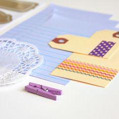 Purple Tag + Embellishment Kit Collection | iloveitall.etsy.com
