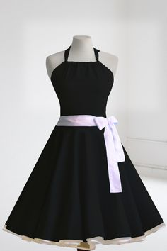 rockabilly 50er jahre kleid petticoat polka dot leo pin up. Black Bedroom Furniture Sets. Home Design Ideas