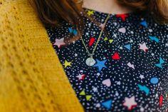 Amuleto Luna Oro La