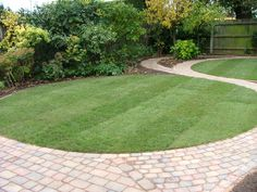 Garden Design Circular Lawns circular lawn round themed garden design with a curved path and