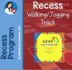 Walking & Jogging Track, great to get kids moving and perfect for rainy days when the field is too wet. Jogging Track, Kids Moves, Online Support, Playgrounds, Physical Education, Elementary Schools, Benefit, Walking, Weight Loss