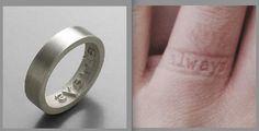 cutest wedding ring