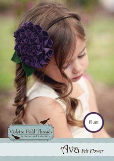 Ava flower Kit: Plum - Violette Field Threads