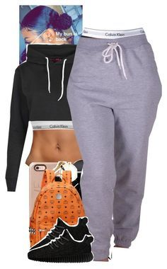 """Untitled #1977"" by toniiiiiiiiiiiiiii ❤ liked on Polyvore featuring Calvin Klein, Boohoo, CO, MCM and adidas Originals"