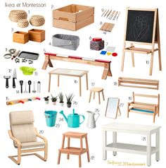Discover a selection of my latest finds at Ikea . You are in the right place about Montessori Ikea Montessori, Montessori Toddler Rooms, Montessori Bedroom, Ikea Toddler Room, Baby Playroom, Playroom Furniture, Playroom Decor, Kura Ikea, Girl Room