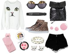 """""""Cats eyes."""" by prettiestkitty ❤ liked on Polyvore"""