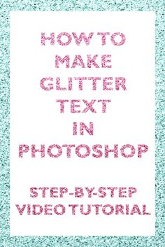 How to make glitter font in photoshop for beginners effect layer style clipping mask papercravings ecourse seamles repeating pattern sparkly sparkle shimmer, photoshop, tutorial, beginner photoshop tutorial, how to make glitter in photoshop, glitter pattern, glitter font, glitter text, glitter text style, how to create glitter, how to make sparkles, sparkle effect in photoshop…
