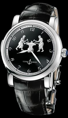 Forgerons Minute Repeater - Exceptional - Welcome to the Ulysse Nardin  collection 6fea0a147fd