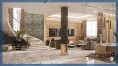 Luxury Classic interior design Dubai UAE at AED 110 per sq. Look at latest neoclassical interior design and decoration projects of 2020 year in Dubai, UAE Interior Design Videos, Interior Design Dubai, Modern Home Interior Design, Interior Design Companies, Luxury Homes Interior, Modern House Design, Minimalist Interior, Contemporary Interior, Interior Ideas