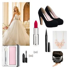 """""""Wedding day with perfect style"""" by jgalicea on Polyvore featuring Givenchy, Clinique, Marc Jacobs, Bobbi Brown Cosmetics, Marc by Marc Jacobs, Full Tilt and Sara Gabriel"""