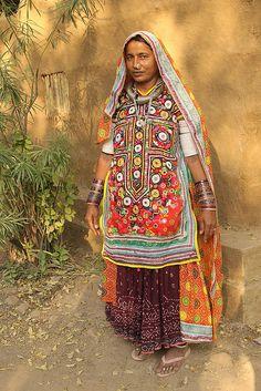 india - gujarat   Flickr - Photo Sharing! Meghwal tribal woman (Gujarat).