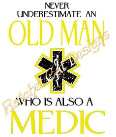 Old Man MEDIC Cutting File Studio 3 by RatchetCatDesigns on Etsy