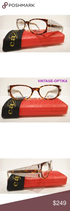 091477b301 CAVIAR 3007 EYEGLASSES BROWN (C16) CRYSTAL STONES These are 100% Genuine
