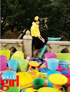vogue girl korea september 2007