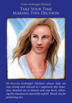 Oracle Card Take Your Time Making This Decision | Doreen Virtue | official Angel Therapy Web site