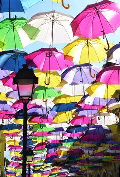 La ciudad de los paraguas
