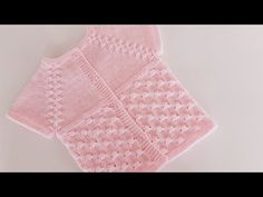 Baby Knitting Patterns, Crochet Baby, Youtube, Knitted Baby, Manualidades, Drawings, Tutorials, Crochet Baby Dresses, Youtubers