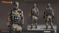 ArtStation - Sharp Shooter exploration and True Sons inspired outfit, Diego de Almeida Peres / Insta: Apocalypse Armor, Apocalypse World, Division Games, Tom Clancy The Division, Armor Concept, Concept Art, Futuristic Armour, Future Soldier, Character Outfits