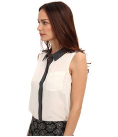 Marc by Marc Jacobs Frances CDC Top Antique White Multi - Zappos.com Free Shipping BOTH Ways