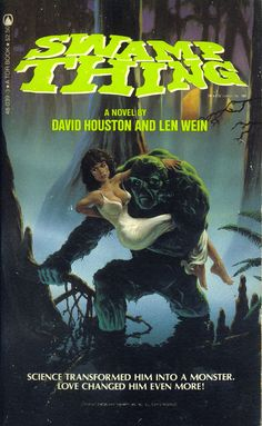 "udhcmh: ""Novelization of 1982 film Swamp Thing. Adrienne Barbeau, Movie Club, Got Books, Scary Movies, Book Recommendations, Swamp Thing, Novels, Science, Film"
