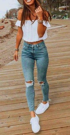 26 Ultimate Women Casual Summer Outfits To Inspire Your Self Ultimate Women Casual Summer Outfits To Inspire Your Self. easy to wear and offer comfort during summer days when you need to not only look good but also feel good in what wearing. Spring Outfits For Teen Girls, Trendy Summer Outfits, Cute Spring Outfits, Teen Girl Outfits, Cute Casual Outfits, Teen Fashion Outfits, Mom Outfits, Teen Party Outfits, Casual Party Outfit Teen