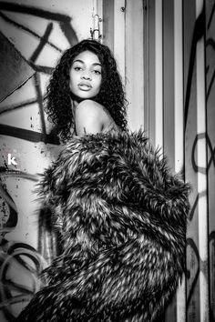 Photographer: Anita Lopez Carreras ⎜Model: Michèle Dombouya ⎜ Shot @ Le Studyo K, Switzerland - 2020 Beauty Shoot, White Fashion, Switzerland, Jon Snow, Fashion Beauty, Dreadlocks, Black And White, Hair Styles, Model