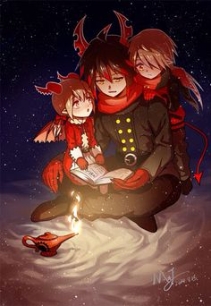 Ivlis, Poemi and Vendetto