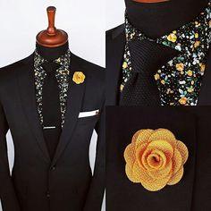 Floral shirt ensemble from Grand Frank Grandfrank.com