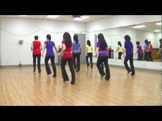 Some Nights - Line Dance (Dance & Teach in English & 中文)  love the song..  would like to learn the dance!