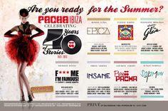 Pacha Ibiza Line-up 2013