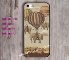 Flight of the Elephants iPhone 4 CaseElephant iPhone by charmcover, $7.99