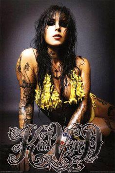 Tattoo Model - Kat Von D - http://worldtattoosgallery.com/tattoo-model-kat-von-d-16/