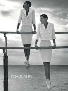 Chanel Photographed by Karl Lagerfeld at the Hôtel du Cap-Eden-Roc in Antibes, France, 2012