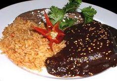 Comida típica de guerrero: Mole Rojo   Zona Culinaria