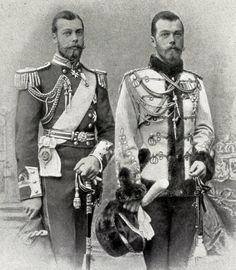 Николай II, Георг V  -  двоюродные  братья.
