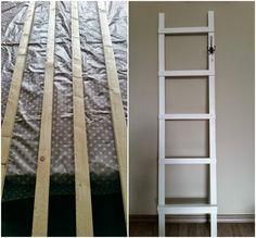 Wil je graag een decoratieladder in huis? Dit kun je gemakkelijk zelf maken. Hier vertel ik je hoe je dat kunt doen.