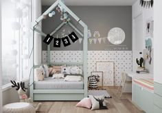 Roohome.com - We must be selective to choose the design for our kids. If we want to make it looks modern and attractive, stylish kids room designs like the following picture below arethe best option. The selection of creative design is suitable for decoratingyourchildren bedroom.The use of bright and attractive ...