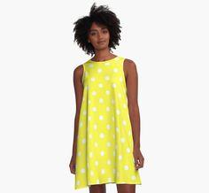 Pretty In Yellow Polkadots by apgme