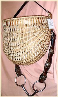 Western Headstall Basket