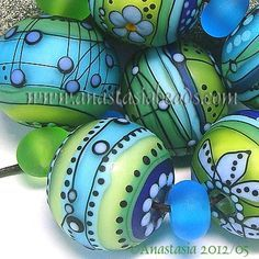 Image result for handmade lampwork glass beads