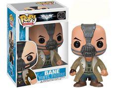Cabezón Batman The Dark Kinght Rises. Bane, 10 cms. Pop Heroes. Funko