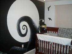 Černobílá stěna